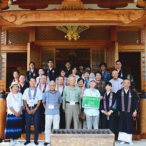 親鸞聖人ゆかりの地参拝ツアー(7月16日 in 角坊)開催報告